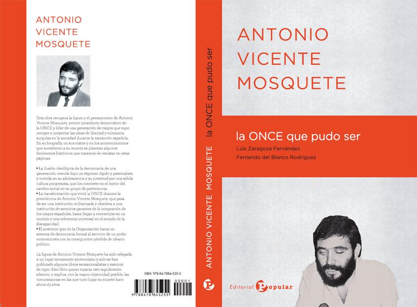 Portada del libro de Antonio Vicente Mosquete